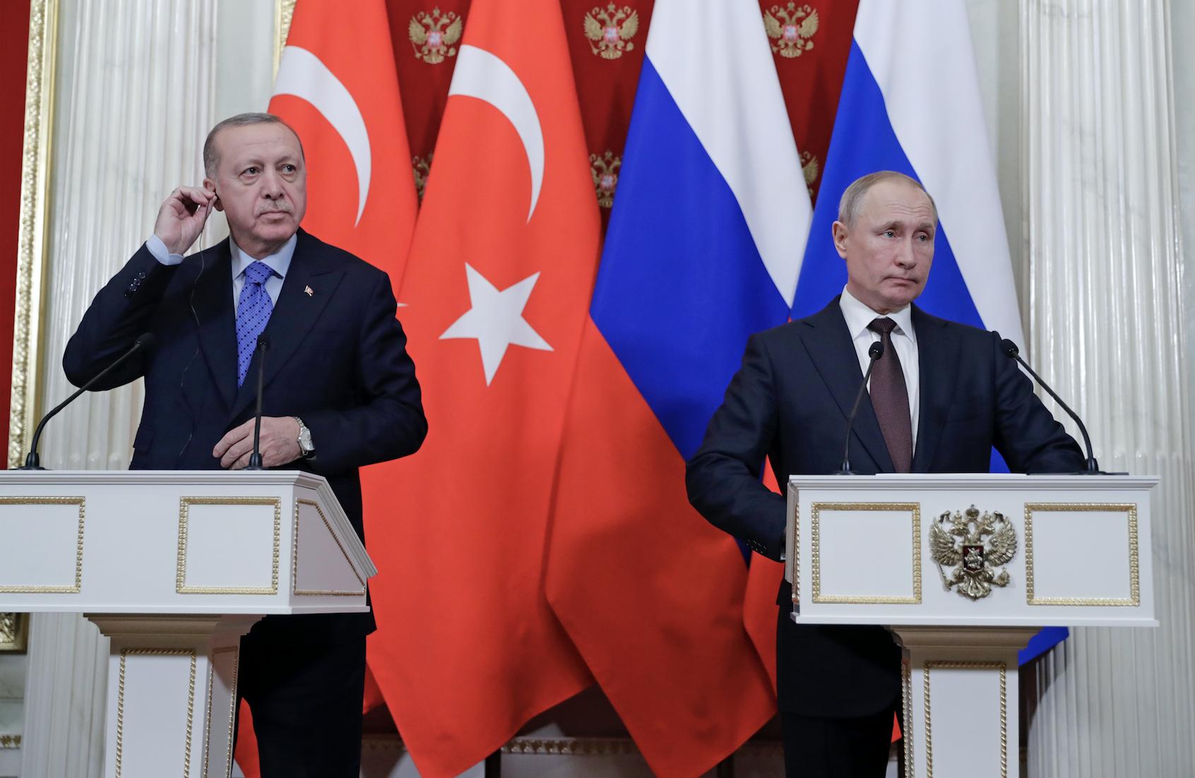 Путин и Эрдоган обсудили расширение усилий по поддержанию мира в Карабахе
