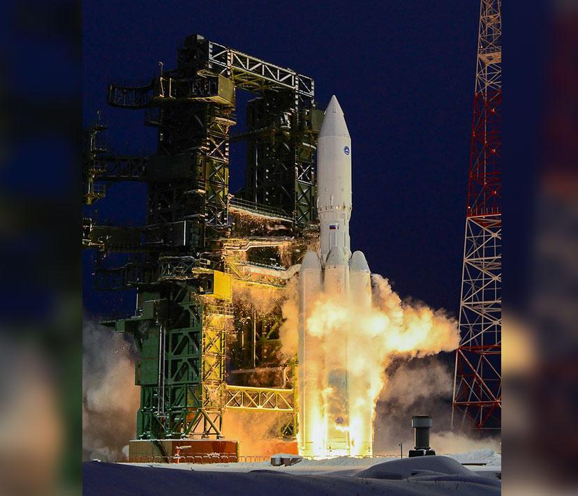 """Первый запуск """"Ангары-А5"""". Фото © Wikipedia"""
