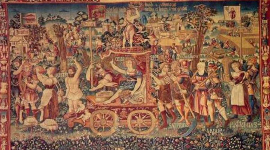 "Гобелен ""Триумф лета"", 1538. Фото © Public Domain"