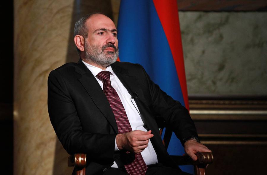 <p>Никол Пашинян. Фото © ТАСС / Александр Рюмин</p>