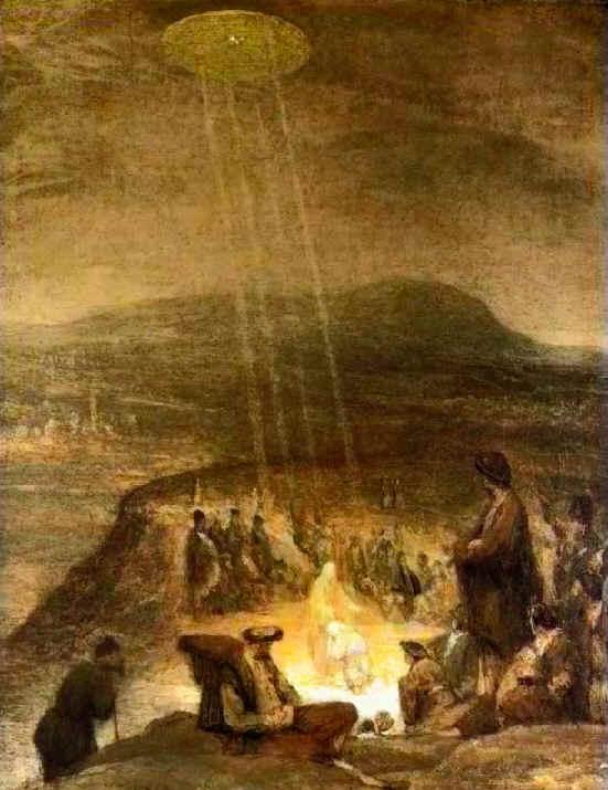 """Картина Арента де Гелдера """"Крещение Христа"""", 1710. Музей Фицуильяма (Великобритания). Фото © Википедия"""
