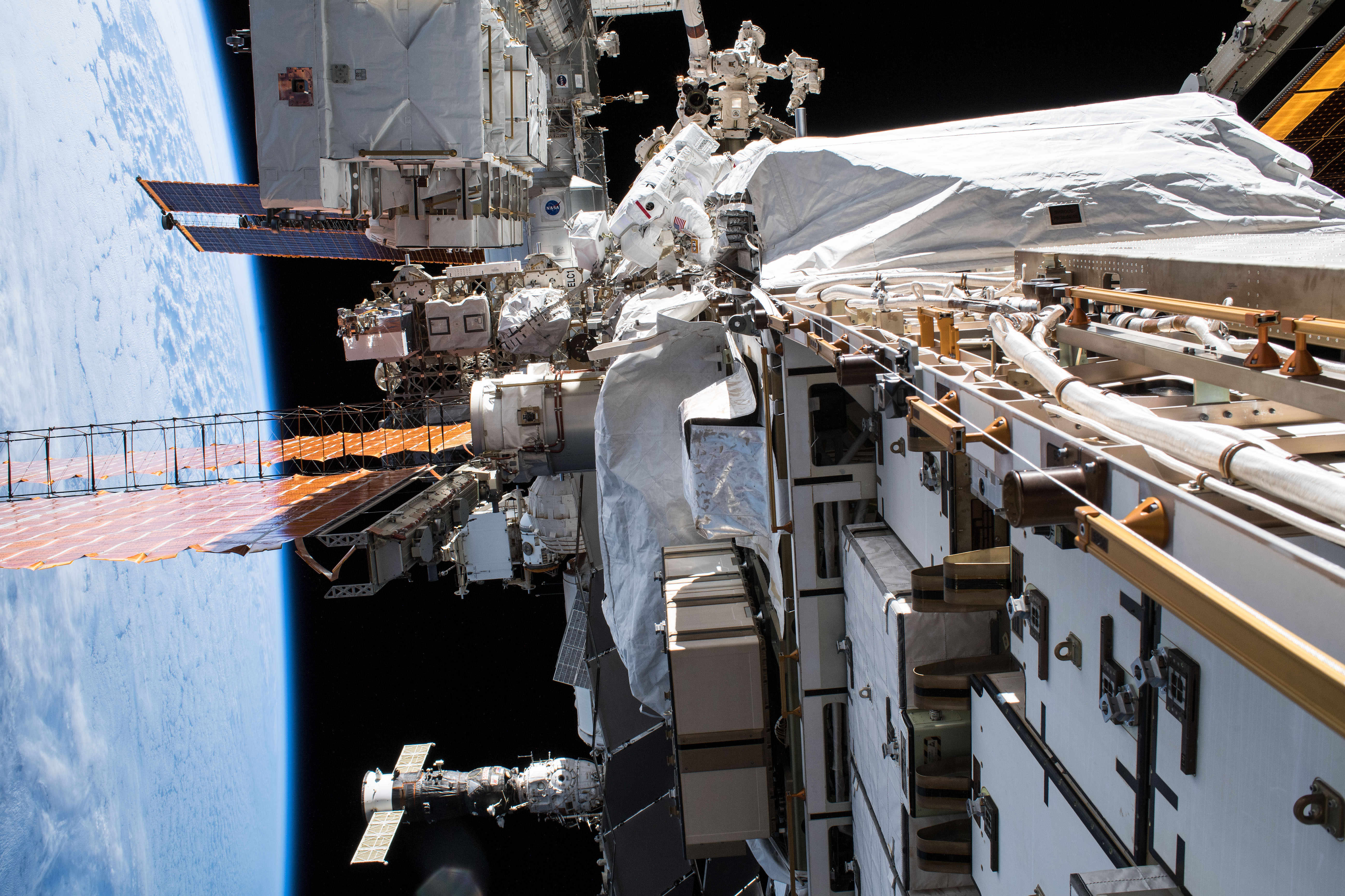 Предложено построить российскую космическую станцию. МКС предсказали печальную судьбу
