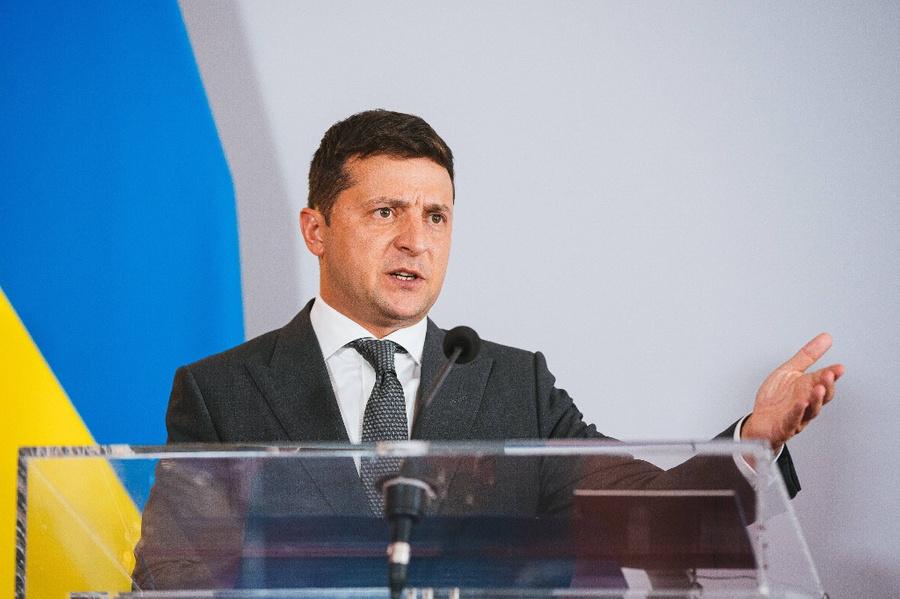 <p>Президент Украины Владимир Зеленский. Фото © ТАСС / imago images / Eibner Europa</p>