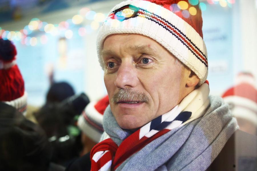 <p>Пресс-секретарь президента РФ Дмитрий Песков. Фото © ТАСС / Валерий Шарифулин</p>