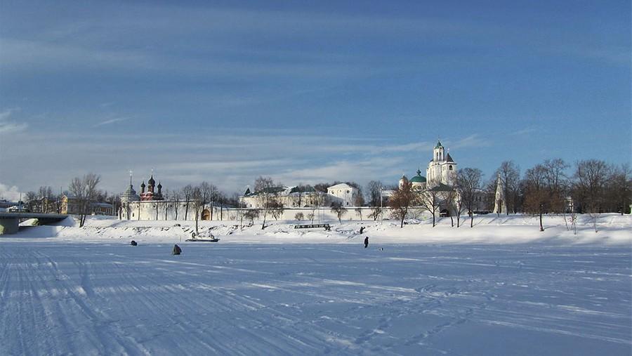 Спасо-Преображенский монастырь, где в течение полугода стояло ополчение. Фото © Wikipedia