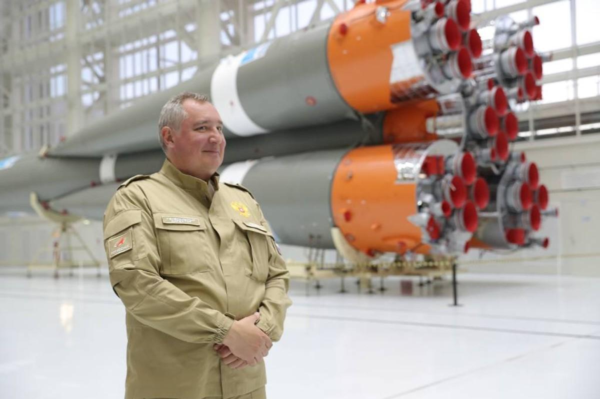 """<p>Генеральный директор ГК """"Роскосмос"""" Дмитрий Рогозин. Фото © ТАСС / Александр Рюмин</p>"""
