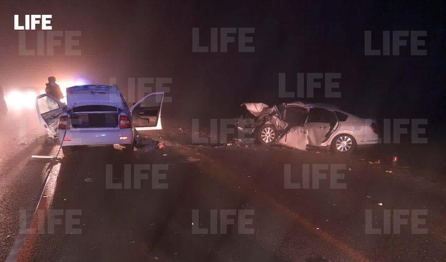 Три человека погибли в жуткой аварии на трассе в Кабардино-Балкарии — фото с места ДТП