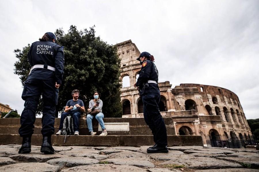 <p>Фото © ТАСС / EPA / ANGELO CARCONI</p>