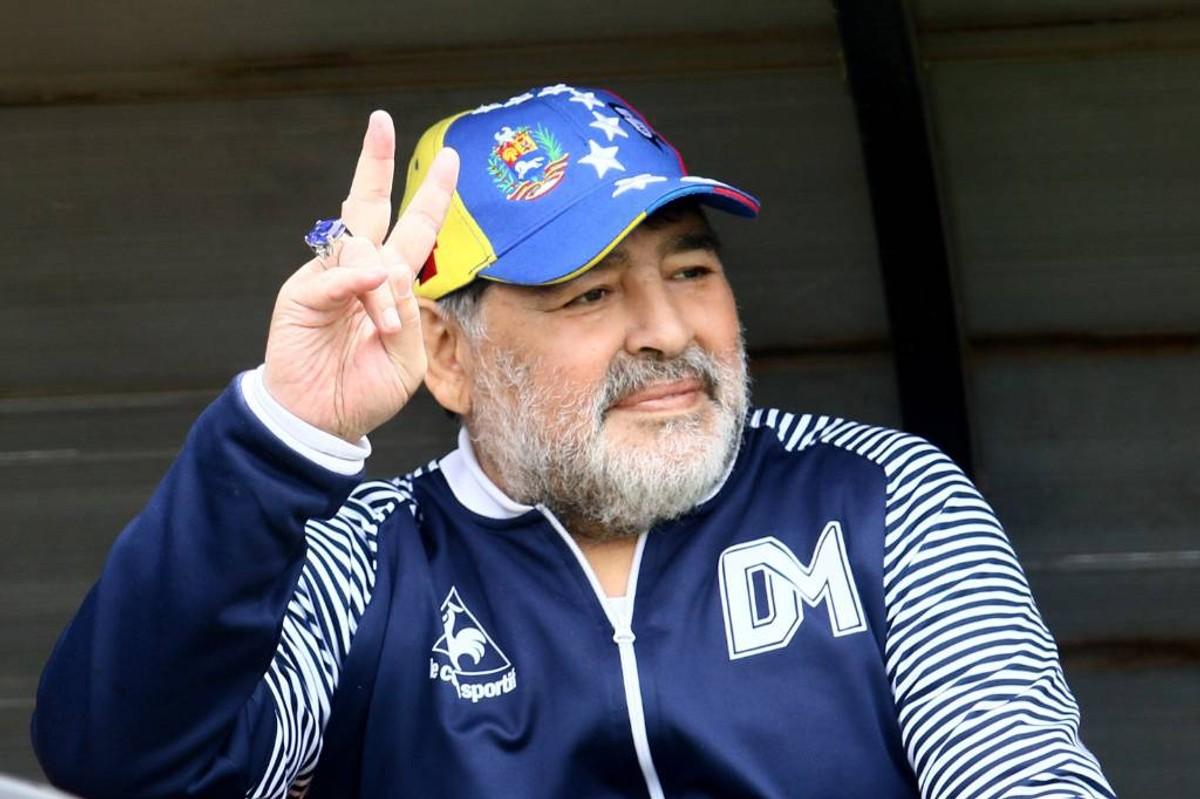 <p>Диего Марадона. Фото © ТАСС / EPA / Arduin Mauricio</p>