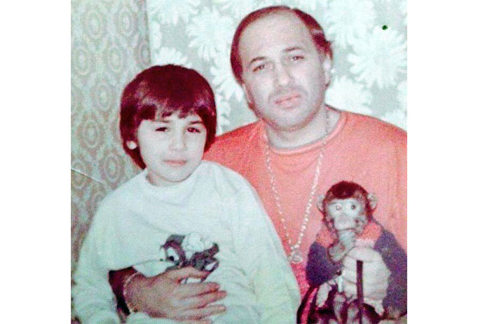 Автандил Чихладзе с сыном Гурамом. Фото © Mzk1.ru