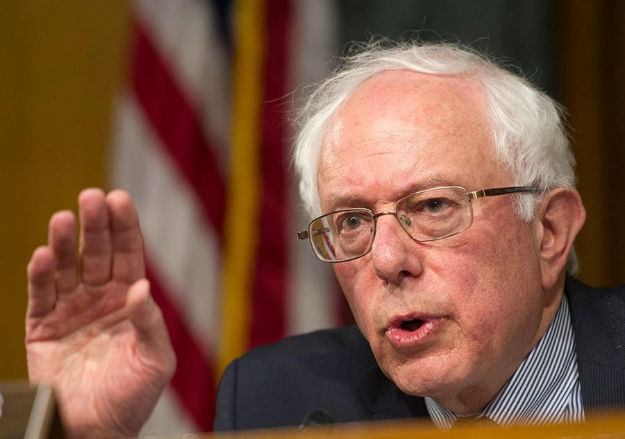 Берни Сандерс. Фото © ТАСС /AP Photo / Cliff Owen, File