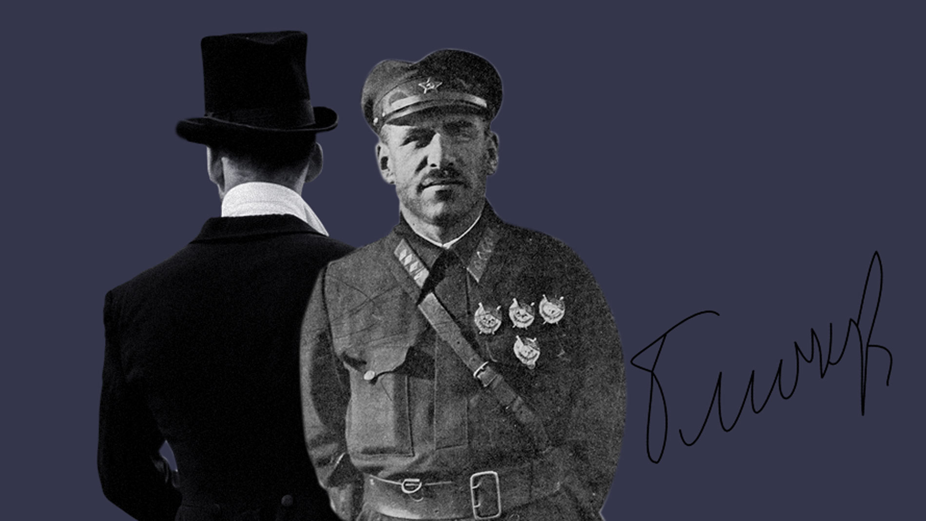 "<p>Коллаж ©LIFE. Фото ©<a href=""https://commons.wikimedia.org/wiki/Category:Vasily_Konstantinovich_Blyukher#/media/File:1925_sovjet_military_advisors_schalfeew_bl%C3%BCcher.jpg"" target=""_blank"" rel=""noopener noreferrer"">Wikipedia</a></p>"
