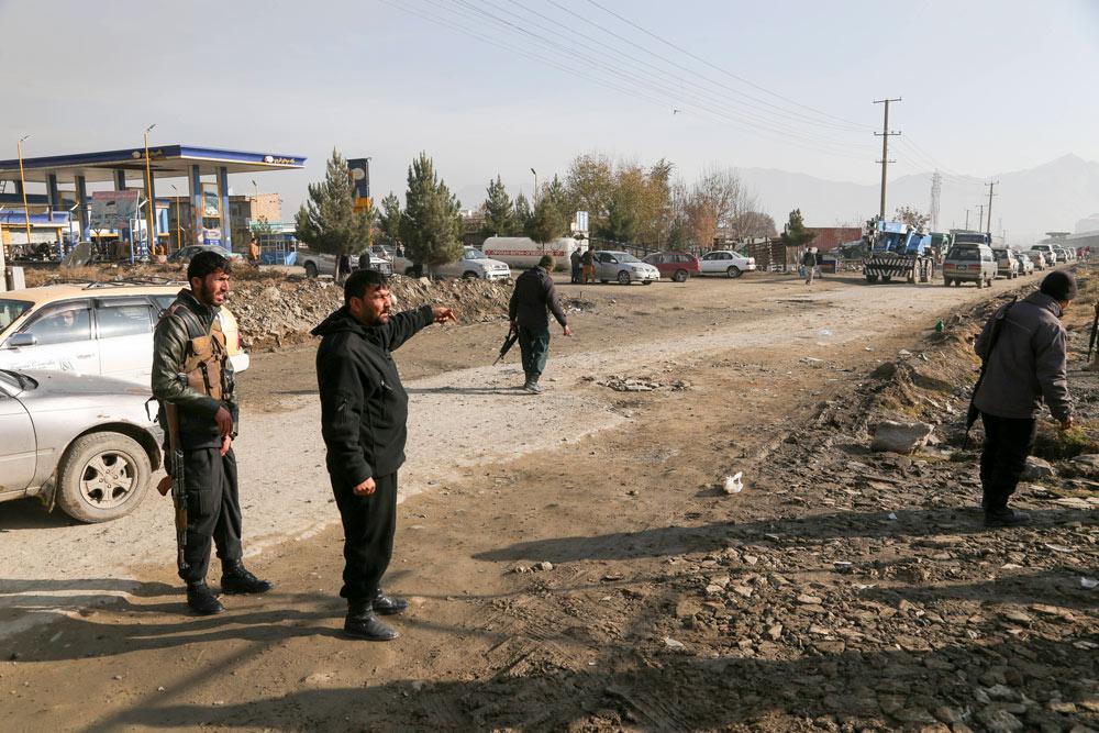 При подрыве автомобиля в Кабуле пострадали российские дипломаты