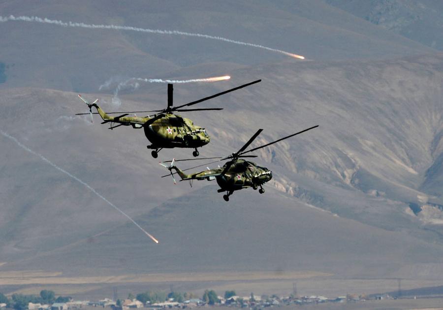 Ми-17. Фото © ТАСС / Ваграм Багдасарян / Photolure / ТА
