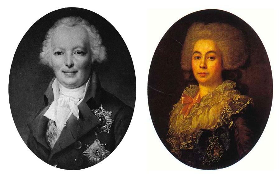 Аркадий Морков и Анна Протасова. Фото © Wikipedia
