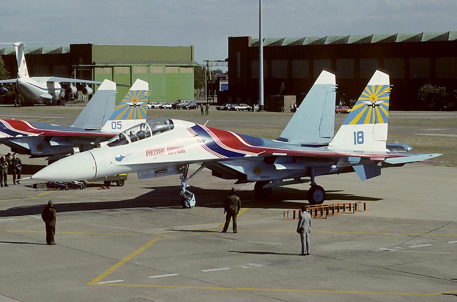"Су-27 ""Русских витязей"" (1991). Фото © Wikipedia"