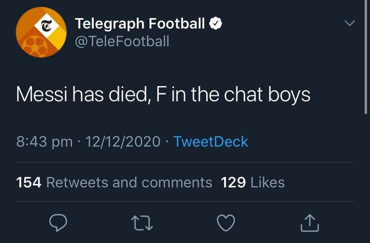Скриншот © Twitter / The Telegraph