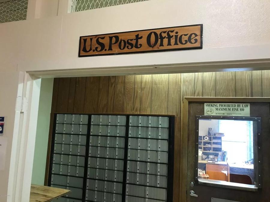 Почтовое отделение в Begich Towers. Фото © Reed Young / The California Sunday Magazine