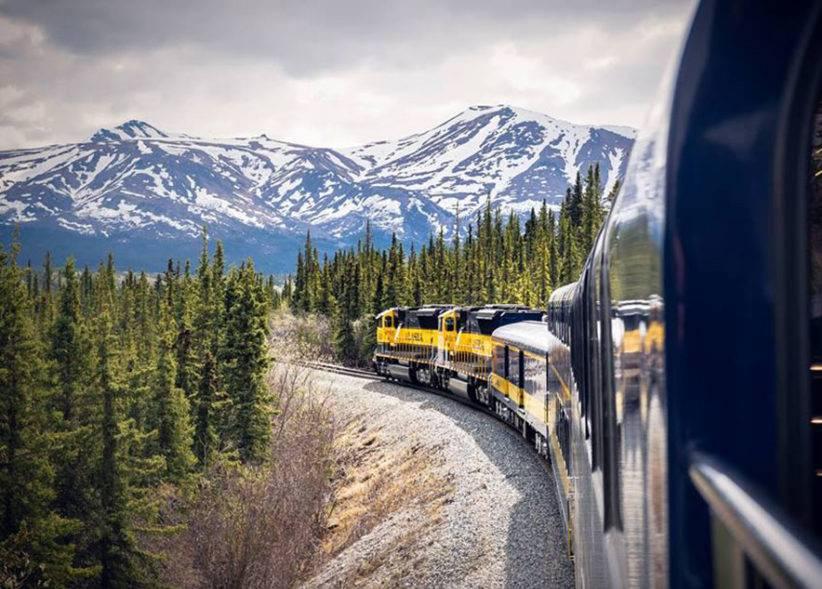 Фото © Facebook / Alaska Railroad