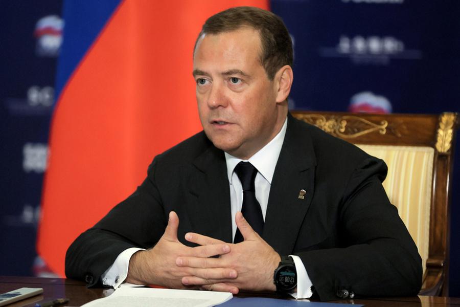 "<p>Дмитрий Медведев. Фото ©<strong style=""font-weight: bold;""> </strong>ТАСС / Екатерина Штукина / POOL</p>"