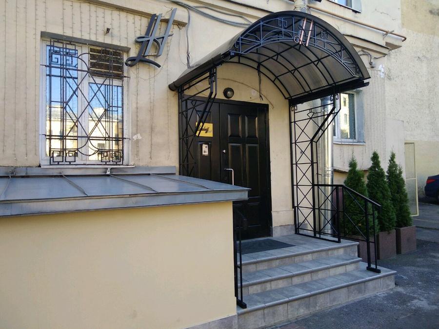 """Отель """"Ландорфф"""" находится в жилом доме. Фото © Яндекс Путешествия"""