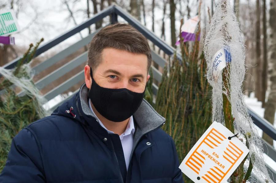 Алексей Немерюк. Фото © Пресс-служба Департамента торговли и услуг Москвы