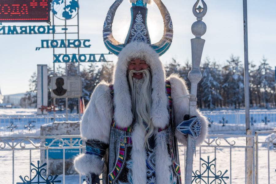 Якутский зимний волшебник Чысхаан. Фото © Wikipedia
