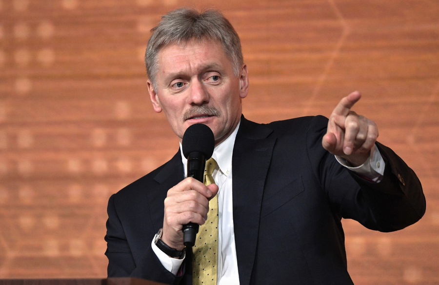 "<p>Пресс-секретарь президента Дмитрий Песков</p><p>Фото © <a href=""http://kremlin.ru/events/president/news/62366/photos/62608"" target=""_blank"" rel=""noopener noreferrer"">Kremlin.ru </a></p>"
