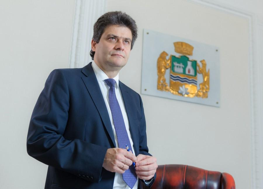 <p>Александр Высокинский. Фото © Администрации Екатеринбурга</p>