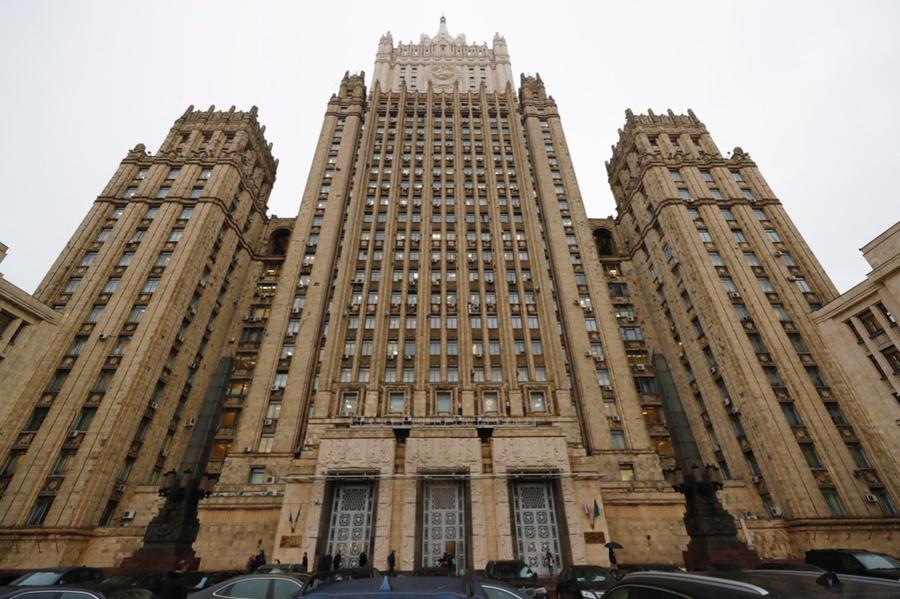 <p>Здание Министерства иностранных дел России. Фото © ТАСС / Михаил Джапаридзе</p>
