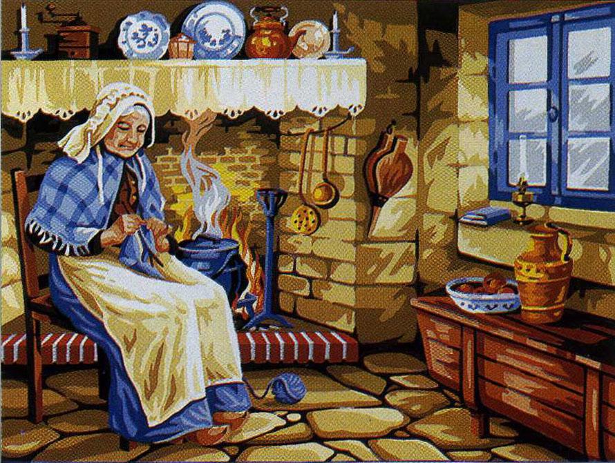 Бабушка Аушка. Фото ©chitalnya.ru