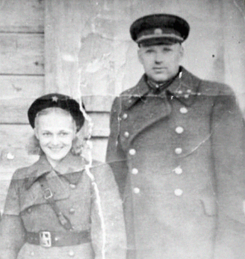 Галина Таланова и Константин Рокоссовский. Фото © Культурология