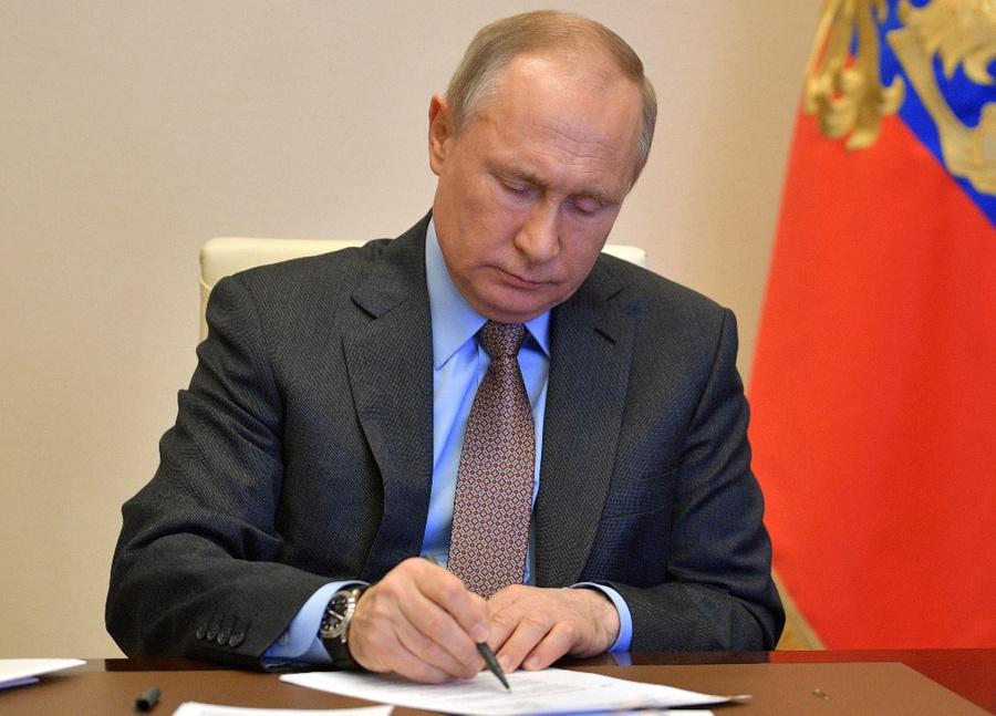 <p>Президент России Владимир Путин. Фото © ТАСС / Алексей Дружинин</p>