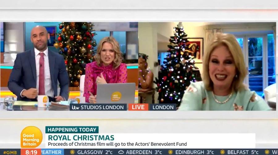 Скриншот © ITV / Good Morning Britain
