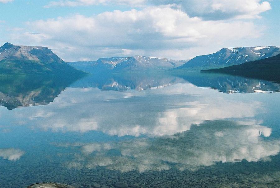 Озеро Лама на плато Путорана. Фото © Wikipedia