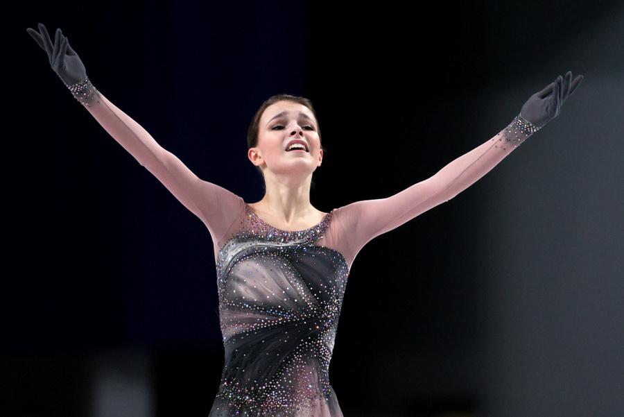 <p>Анна Щербакова. Фото © ТАСС / Сергей Бобылев</p>
