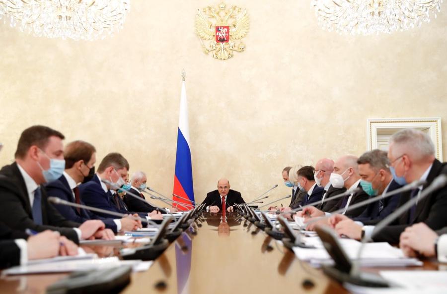 <p>Совещание Правительства РФ. Фото © ТАСС / Дмитрий Астахов</p>