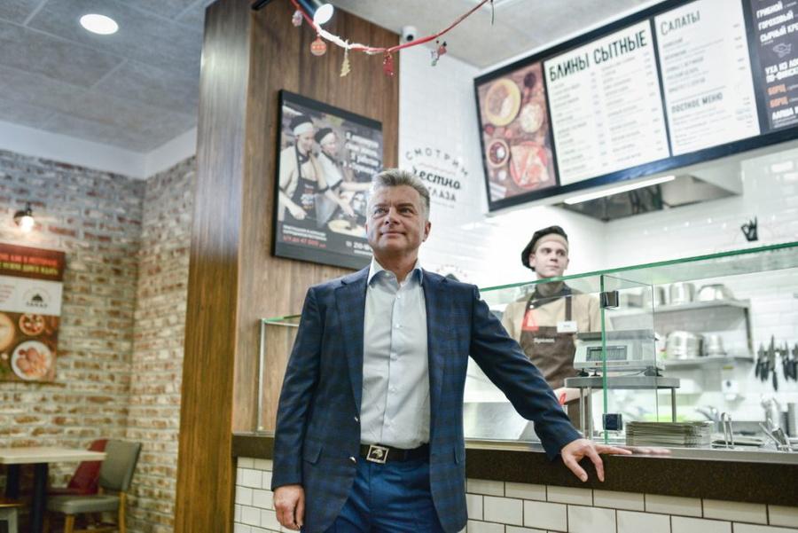 """Виталий Свидовский. Фото © Пресс-служба кафе """"Теремок"""""""