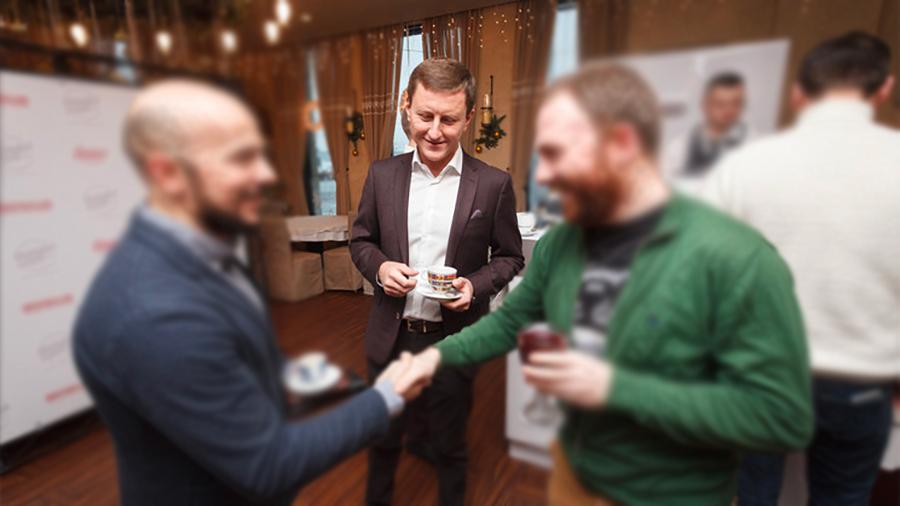 Игорь Букин в центре. Фото © Restoclub