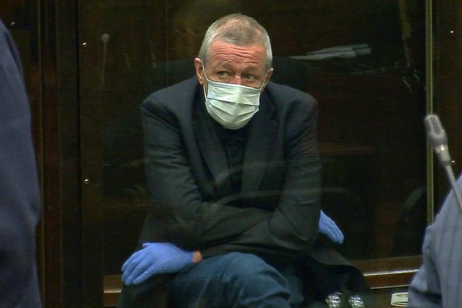<p>Михаил Ефремов. Фото © ТАСС / Снимок с видео. Пресс-служба Мосгорсуда</p>
