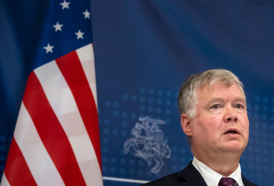 <p>Первый заместитель госсекретаря США Стивен Биган. Фото © ТАСС / AP Photo / Mindaugas Kulbis</p>