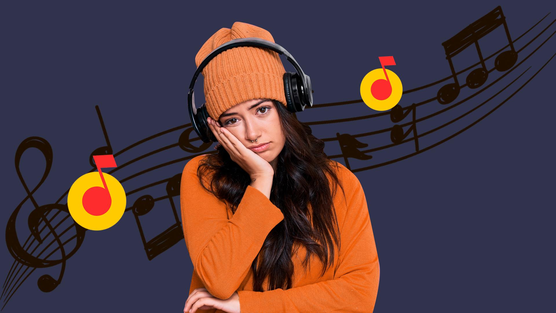 """Никаких больше песен. Из-за конфликта издательства """"Джем"""" и """"Яндекс.Музыки"""" подписчики больше не могут слушать треки любимых исполнителей"""