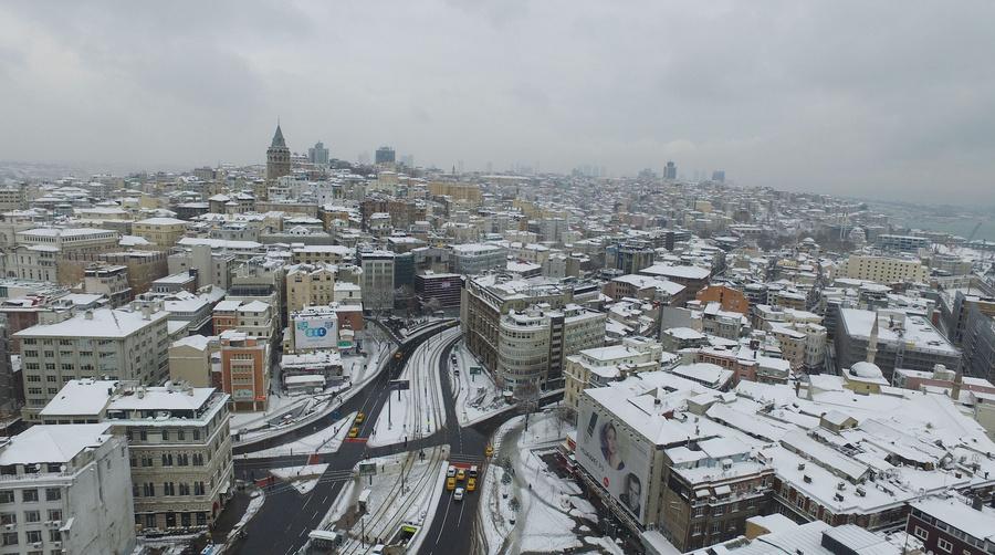 <p>Стамбул зимой. Фото © Zuma \ ТАСС</p>
