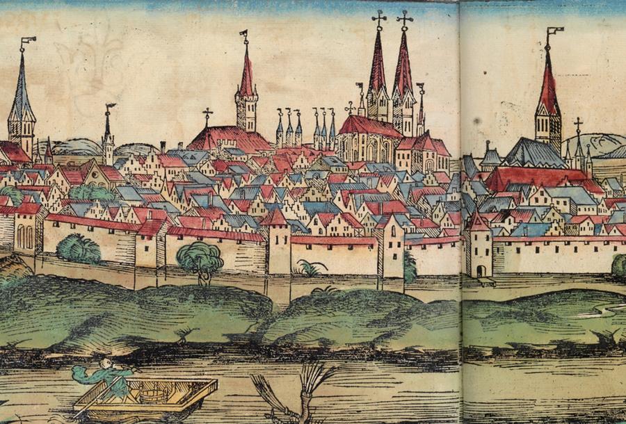 Любек в 1493-м. Фото©Wikipedia