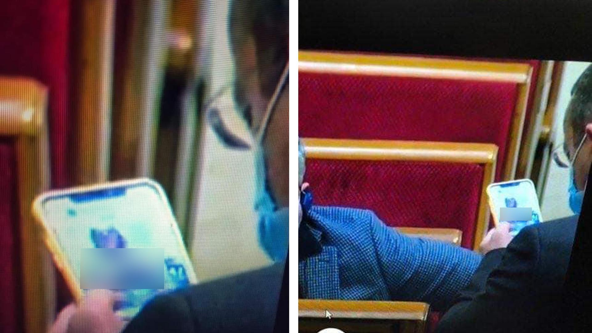 Депутата от партии Зеленского поймали за просмотром порнографии на заседании Рады
