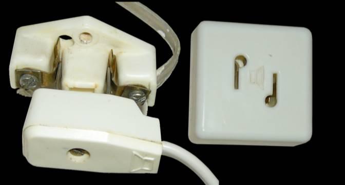 Розетка для проводного радиовещания. Фото © Wikimedia Commons