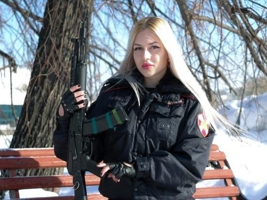 <p>Анна Храмцова. Фото © rosguard.gov.ru</p>