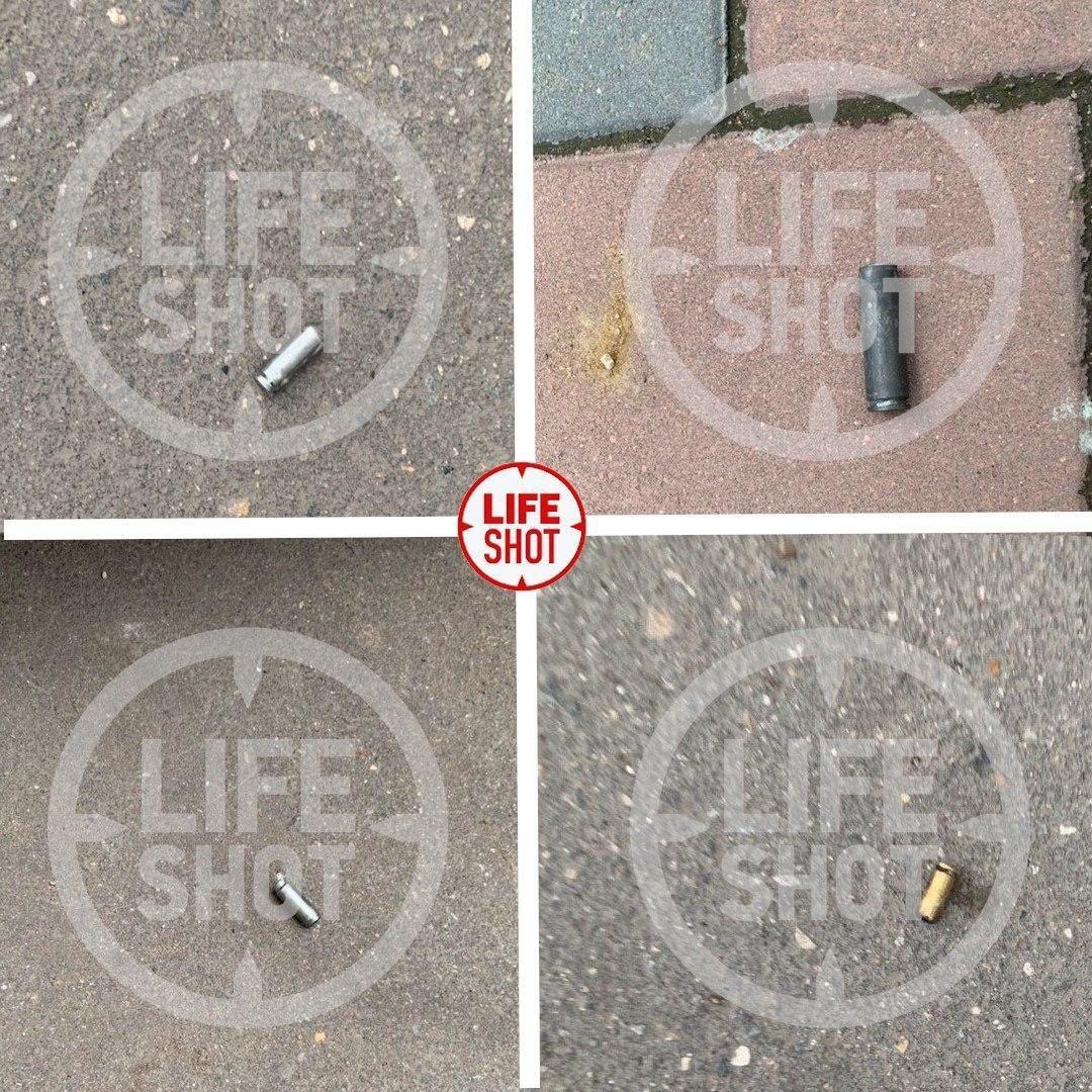 Гильзы. Как видно, стреляли из разного оружия. Фото © LIFE SHOT