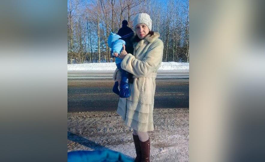 Ангелина с двухлетним сыном. Фото © VK / Ангелина Башарова