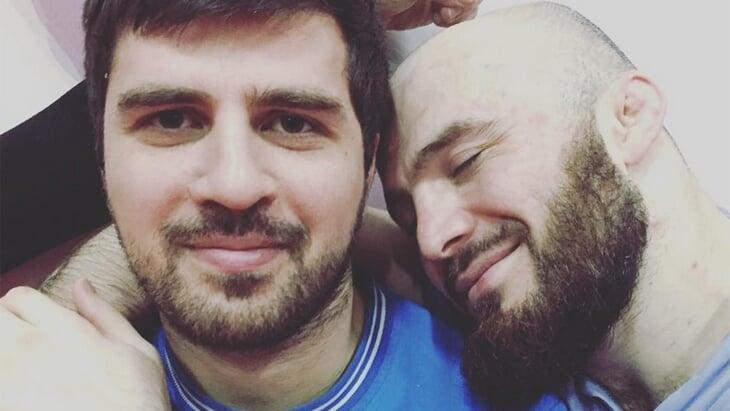 У Осии с Исмаиловым вне тренировок братские отношения. Фото © LIFE Shot